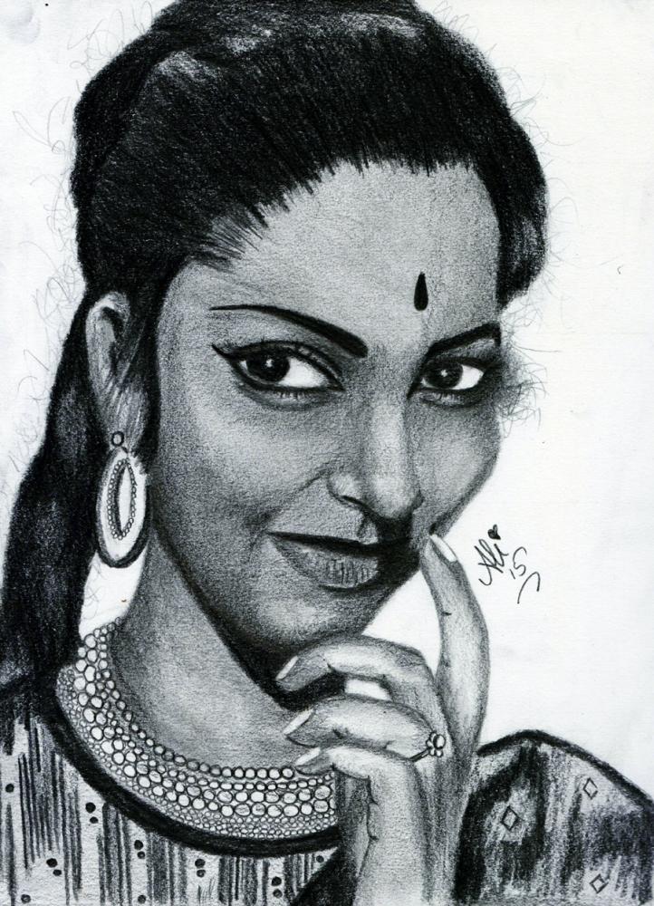 Waheeda Rehman by bobbydar01@gmail.com